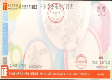 Double Coated Anti Counterfeit Printing , Acrylic Adhesive Label Paper Offer Printing Design